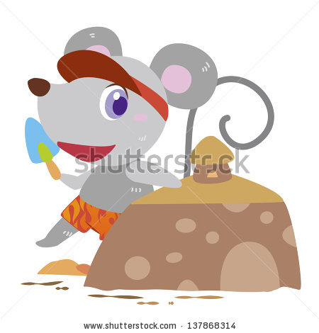 Mouse Family Stock Photos, Royalty.