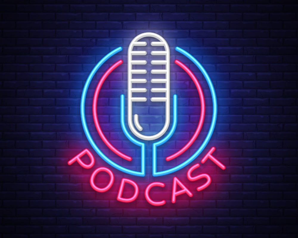 How to design a great podcast logo.