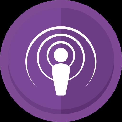 Apple podcast, apple podcast logo, audio, podcast, podcast.