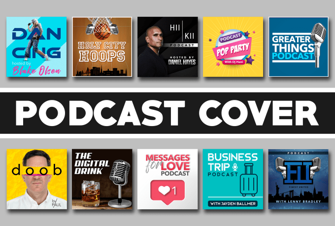 design podcast cover art.