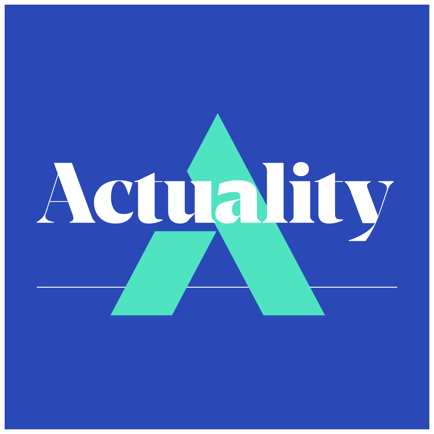 Actuality podcast logo.