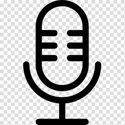 Microphone Computer Icons Podcast, retro icon transparent.