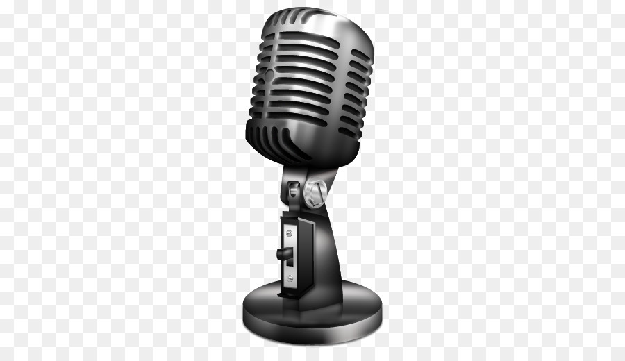 Microphone Cartoon clipart.