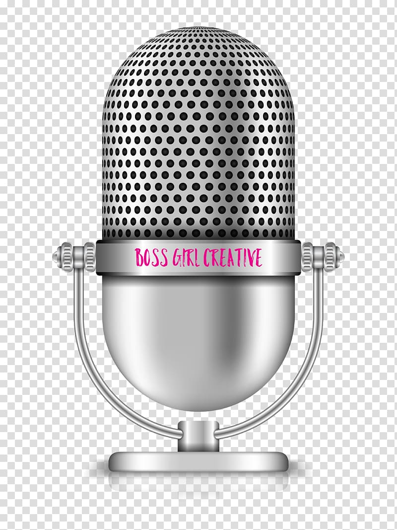 Microphone Podcast , microphone transparent background PNG.