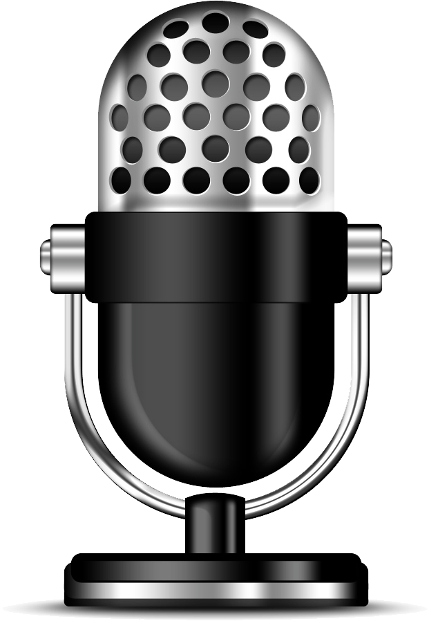 Podcast Clipart Microphone transparent PNG.