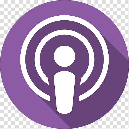 Podcast iTunes Computer Icons Logo, podcast icon transparent.