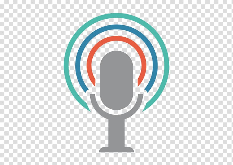 Gray microphone illustration, Podcast Adult education.