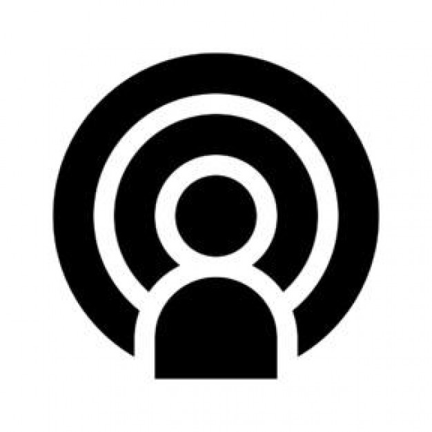 Podcast Icon, Transparent Podcast.PNG Images & Vector.