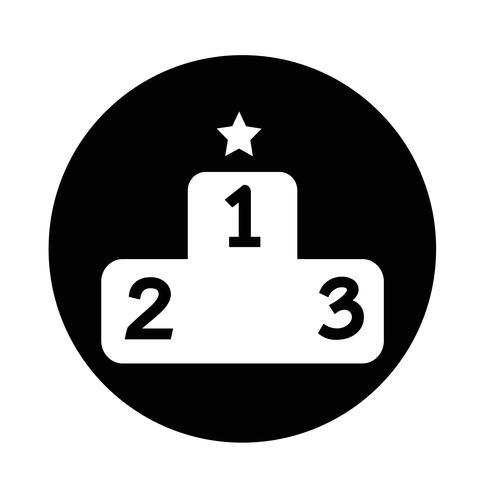 Podium icon.