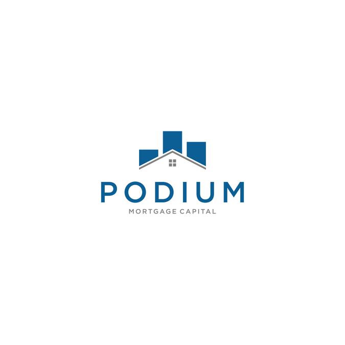 Podium logo.