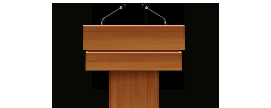 PNG Speaker At Podium Transparent Speaker At Podium.PNG.