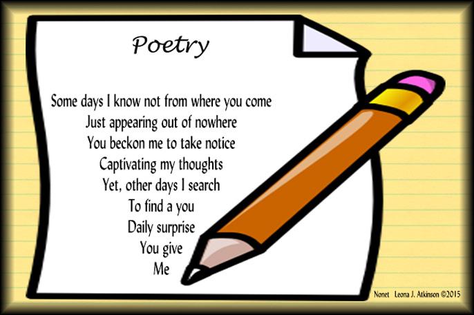 Poem Clip Art.