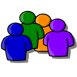 Abstract people clipart free.