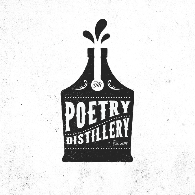 Design a logo for The Poetry Distillery.