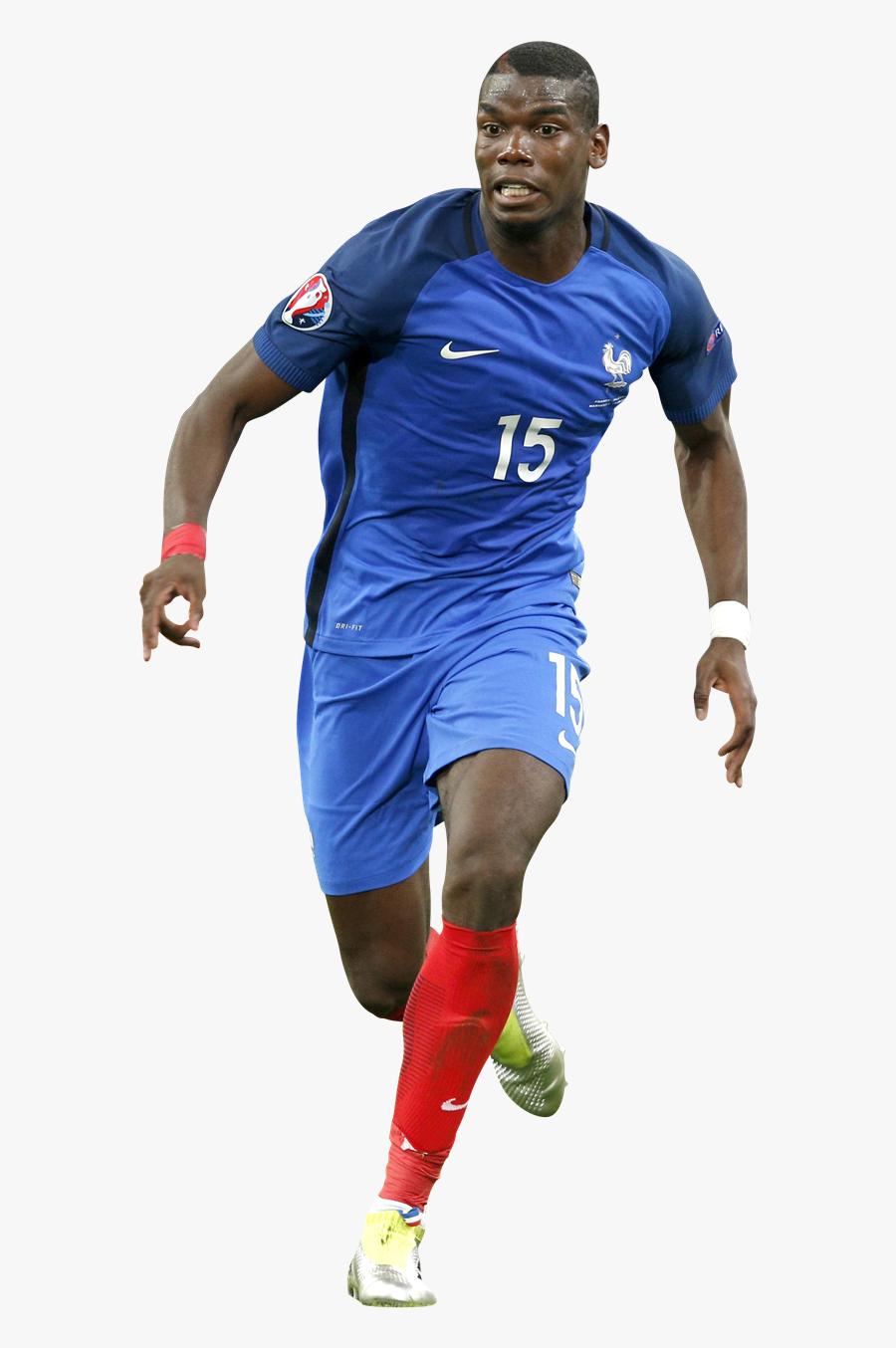 Pogba Football Team Paul Sport Jersey Clipart.