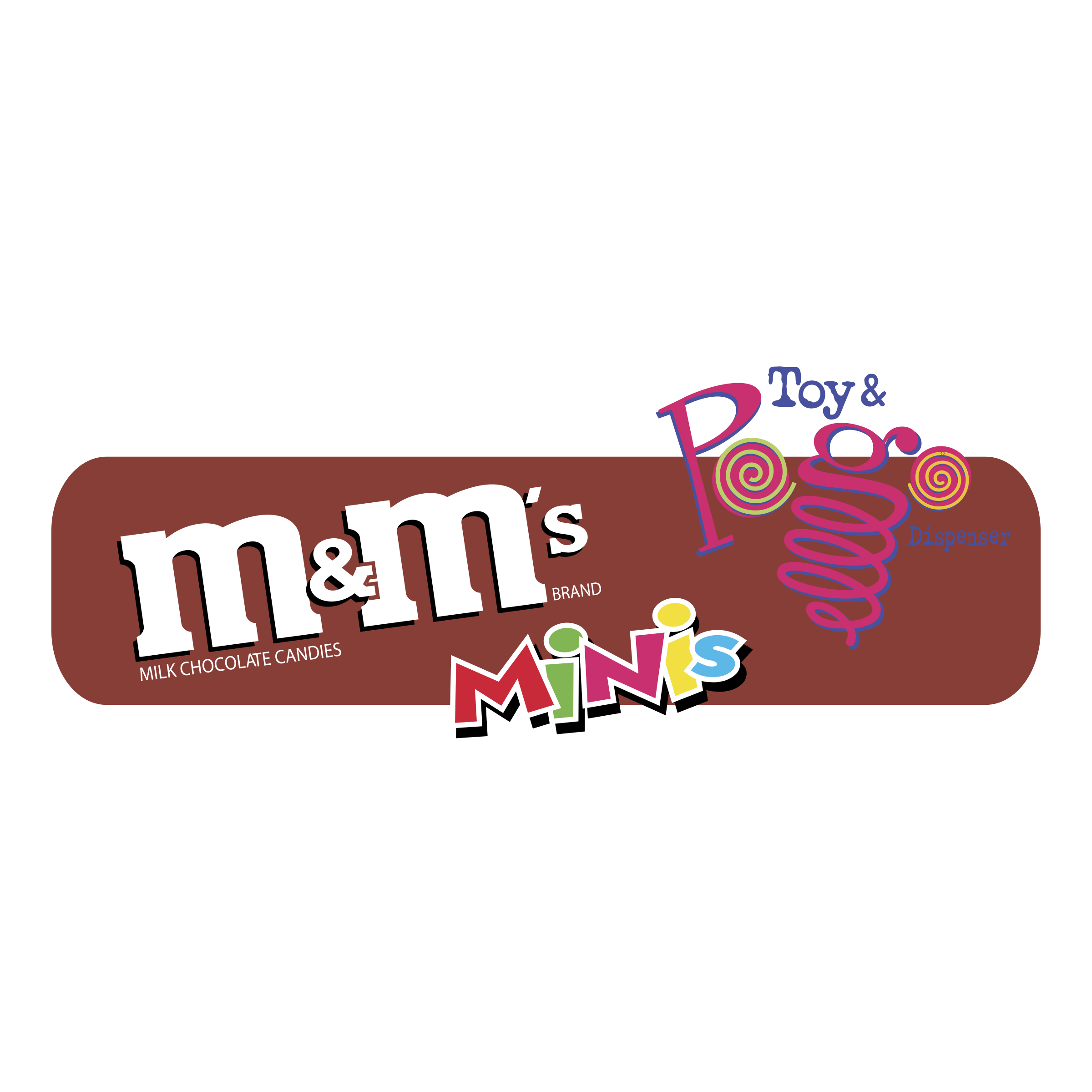m&m\'s MINIs Toys & Pogo Dispenser Logo PNG Transparent & SVG.