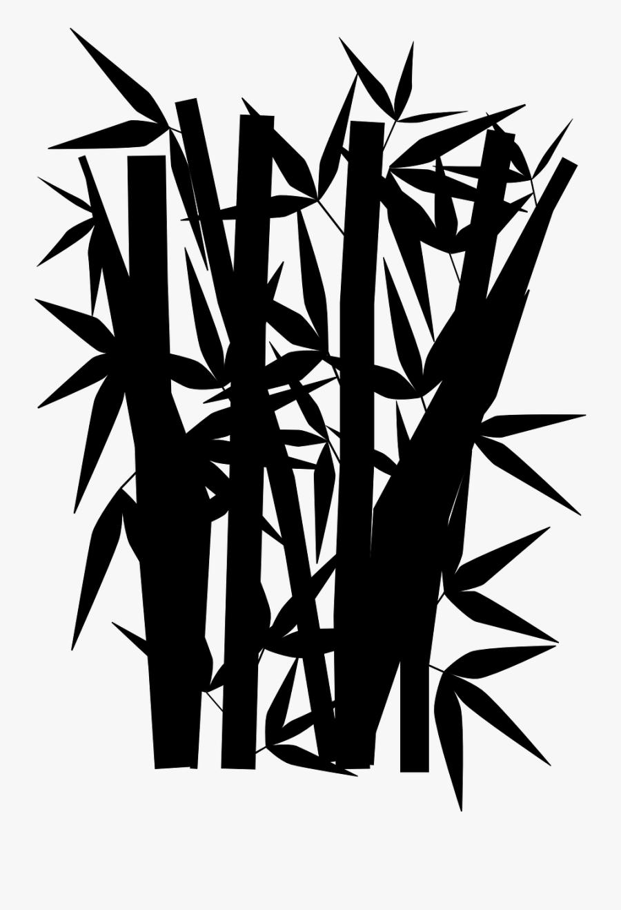 Gambar Animasi Pohon Bambu , Free Transparent Clipart.