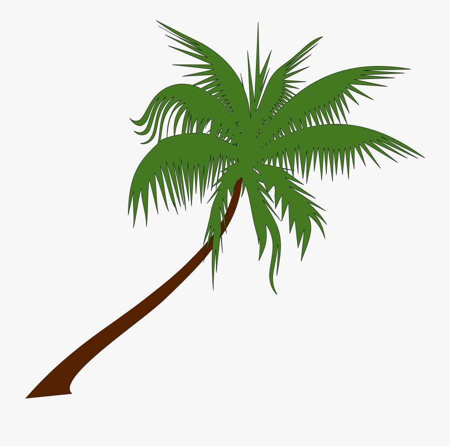 Sunset Clipart Coconut Tree.