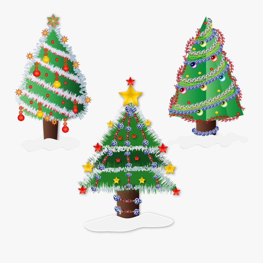 Christmas Trees Clip Arts.
