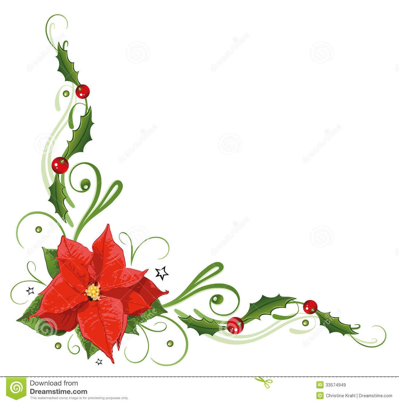 Poinsettia Stock Illustrations.