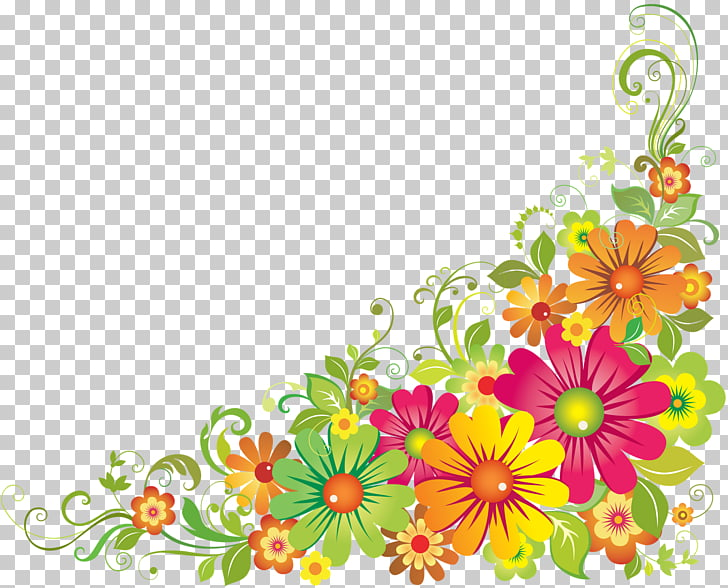 Flower Poinsettia Autumn , flower border PNG clipart.