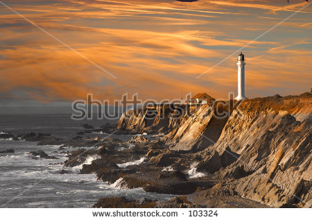 Point Arena Lighthouse Stock Photos, Images, & Pictures.