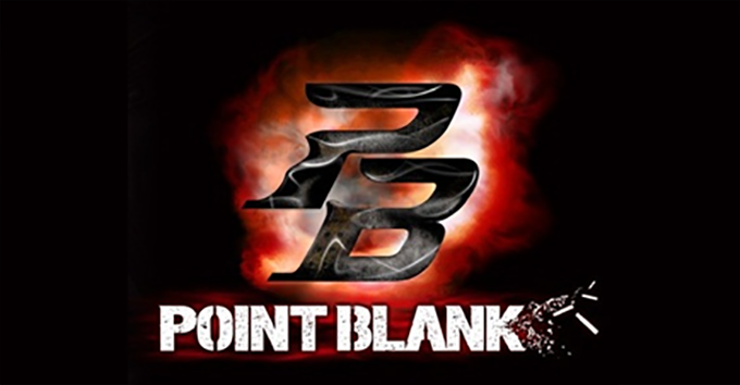 Point Blank Game Logo.