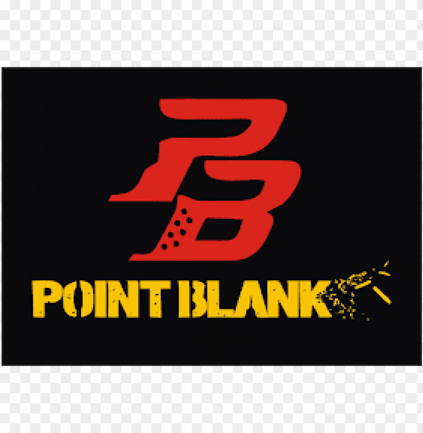 point blank logo PNG image with transparent background.