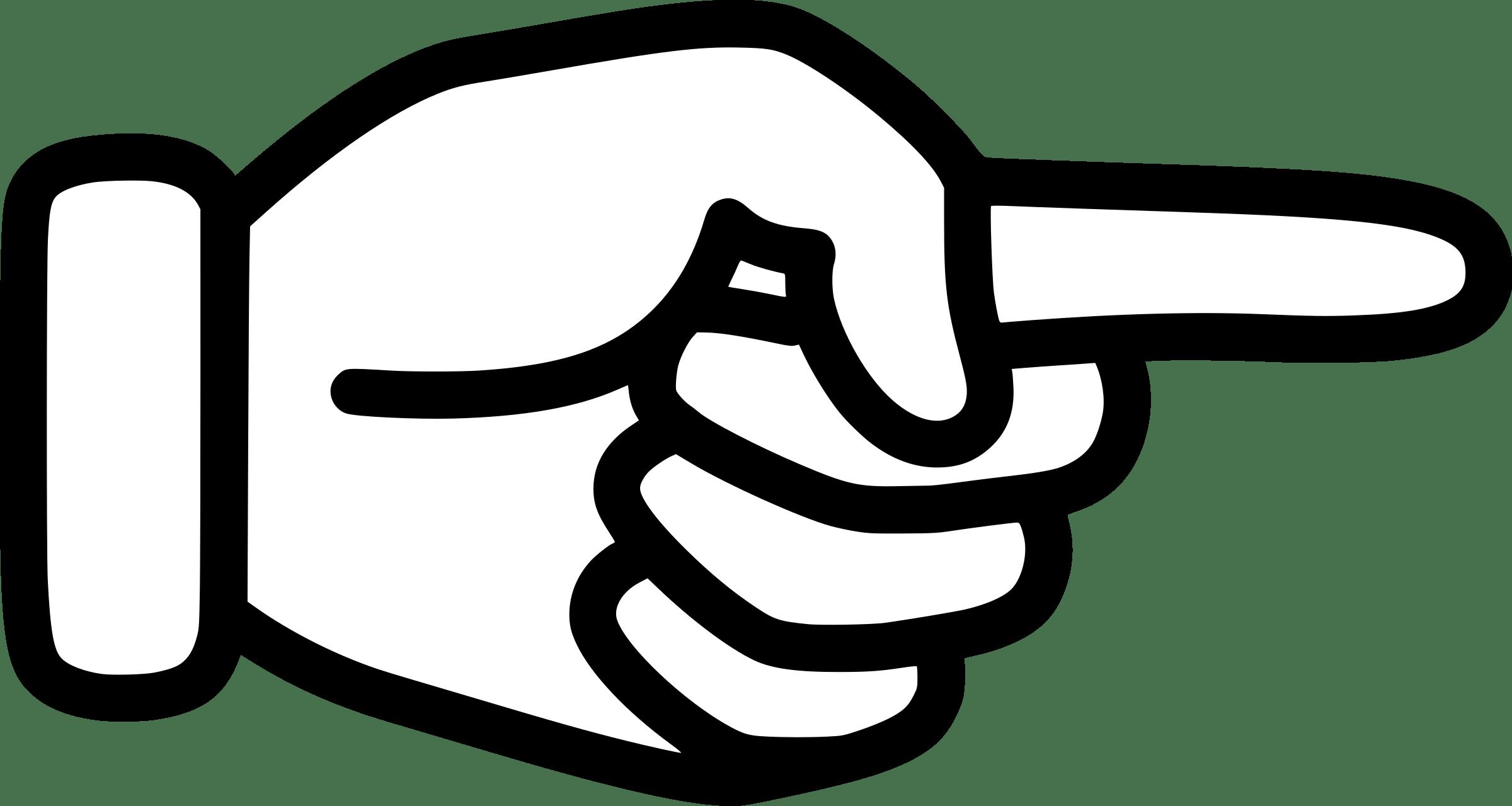 Finger point clipart 5 » Clipart Portal.