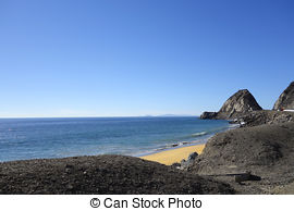 Stock Photos of Channel Islands and Point Mugu, CA.