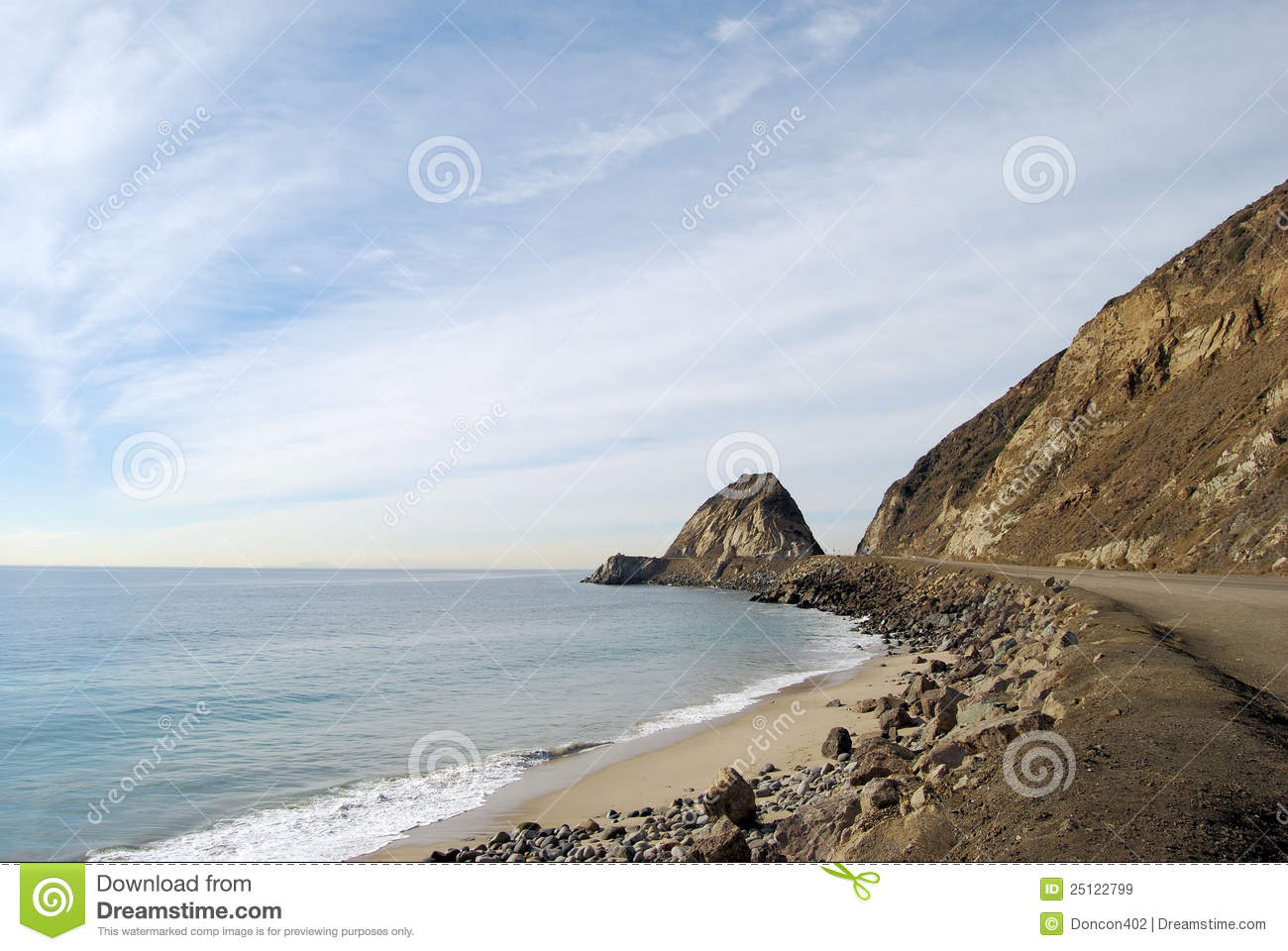 Point Mugu Royalty Free Stock Images.