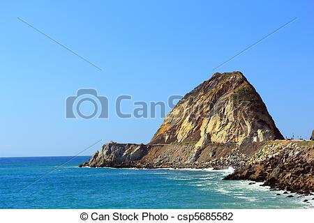 Stock Photo of Point Mugu, CA.