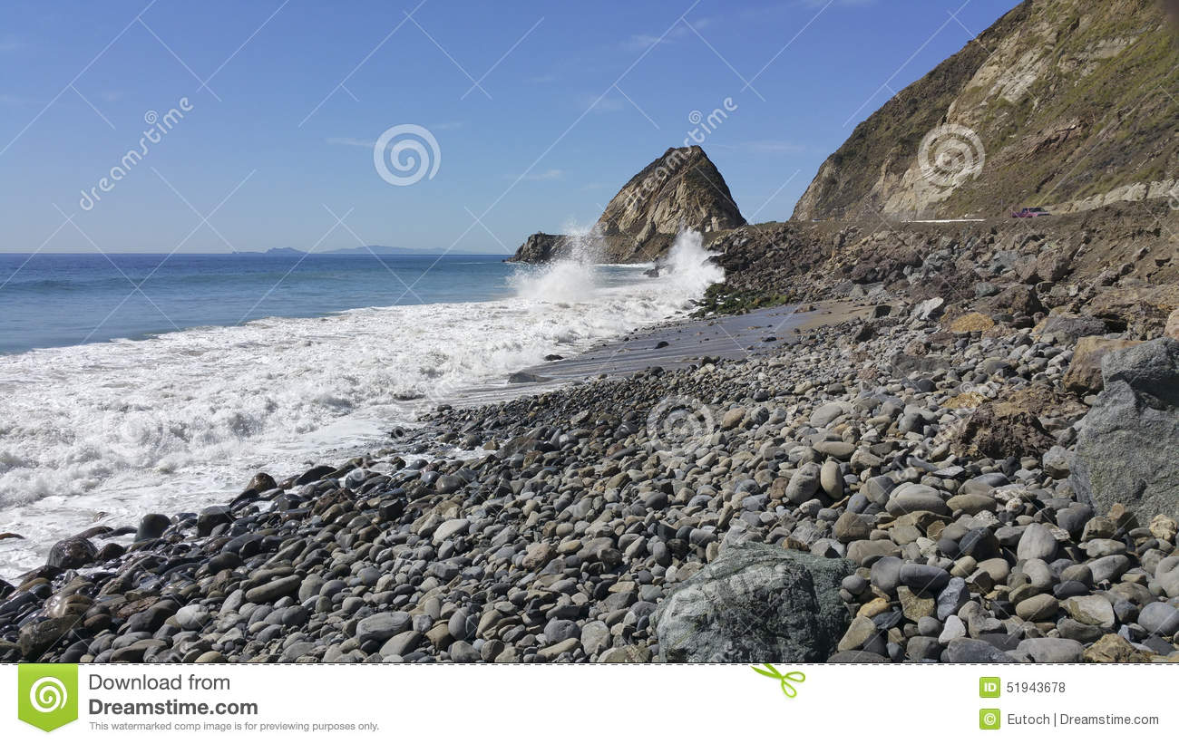 Point Mugu, CA Royalty Free Stock Photo.
