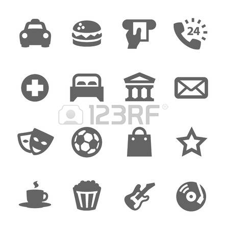 1,107 Points Of Interest Stock Vector Illustration And Royalty.
