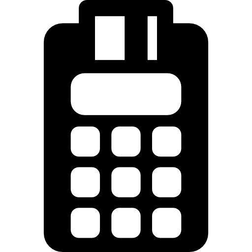 Point of sale terminal (POS).