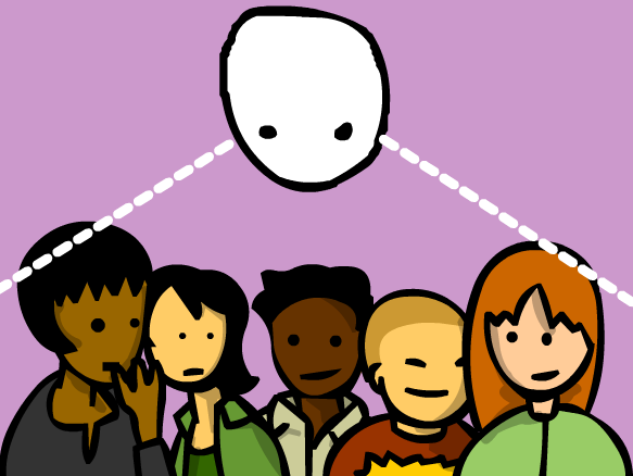 Third Person Point Of View Clipart.