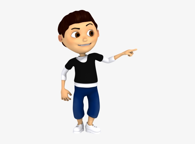 Svg Download Child Pointing To Self Clipart.