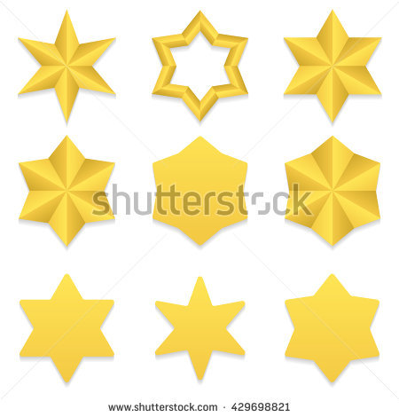 Six Pointed Star Stock Photos, Royalty.