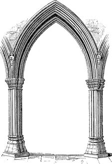 Pointed Arch Clipart Clipground