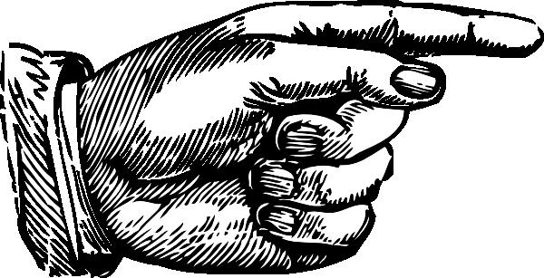 Pointing Hand Clip Art at Clker.com.