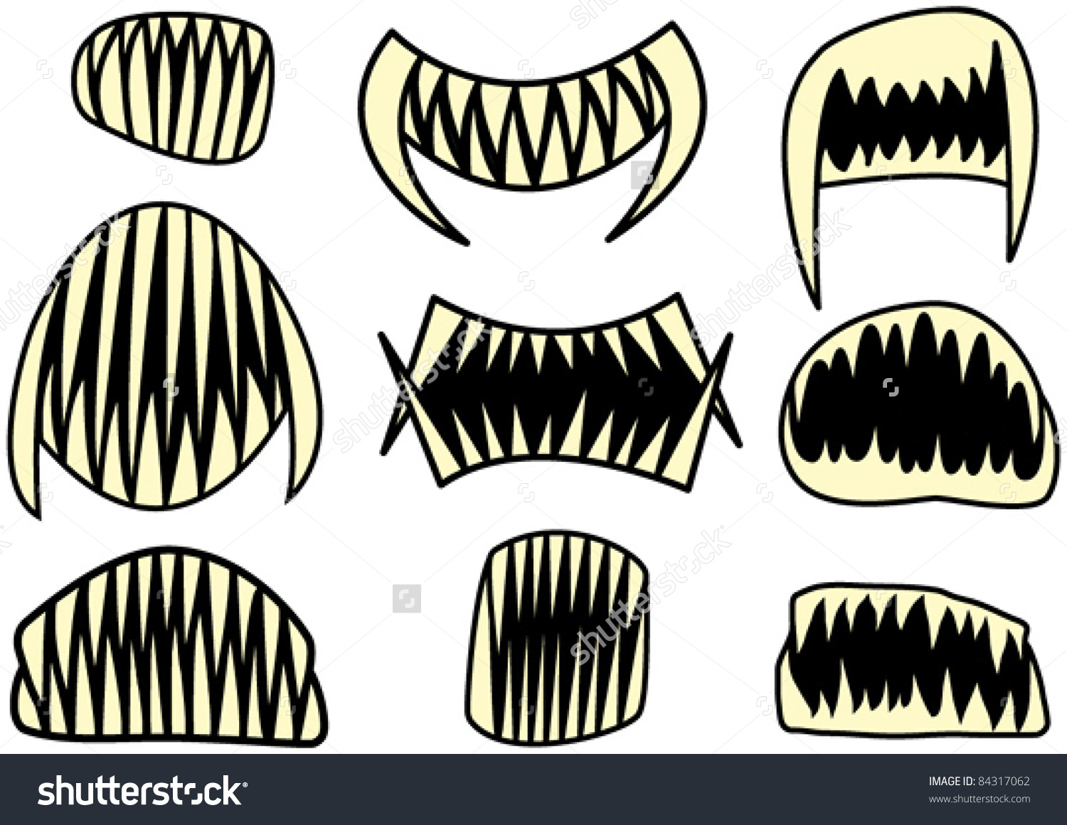 Showing post & media for Cartoon sharp teeth clip art.