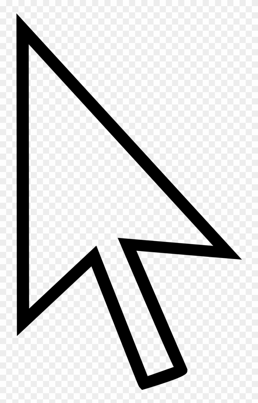 Mouse Pointer Arrow Ps Computer Png Image.