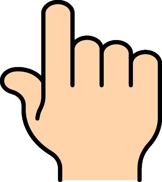 Pointer Finger Clip Art at Clker.com.