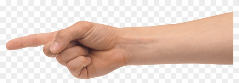 Pointing Hand Png.