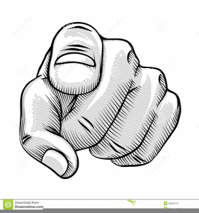 Clipart Pointing Hand.