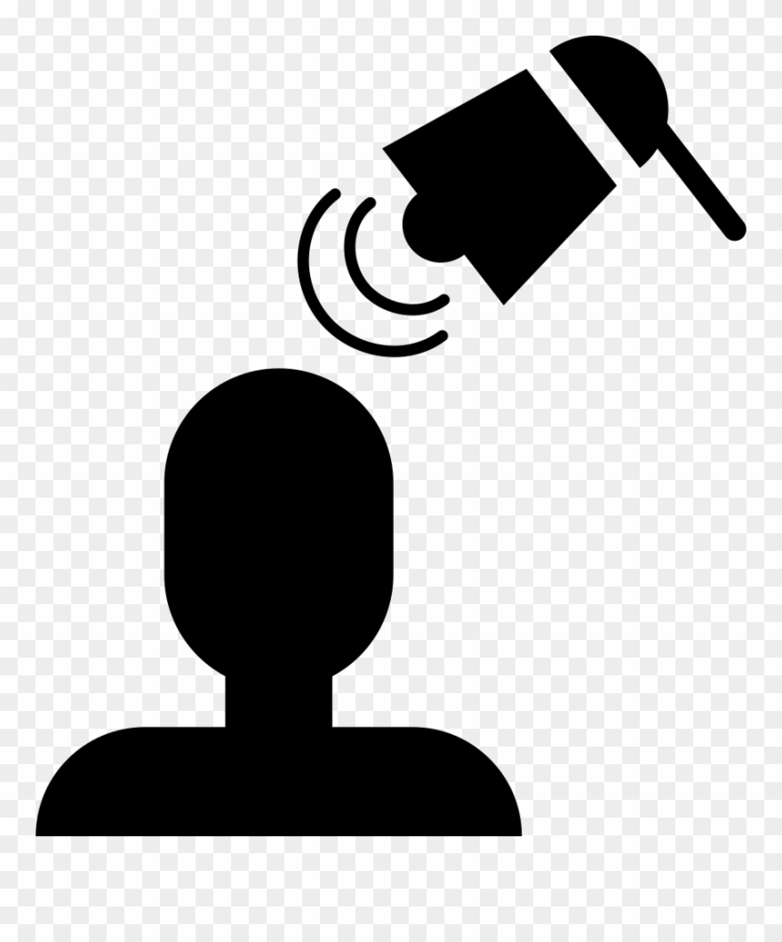 Tool Pointing Person Head Comments Clipart (#3651837.