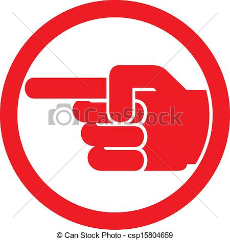 Points finger Vector Clipart Royalty Free. 16,787 Points finger.