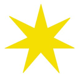 Pointy star clipart images.