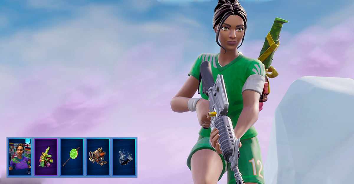 Poised Playmaker + Perfect Present + Lollipopper.