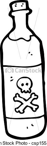 Clipart poison bottle.
